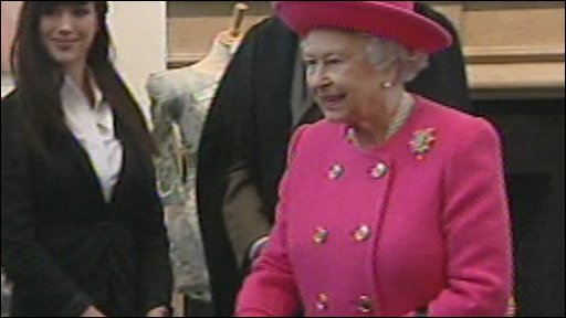 The Queen at Wellington College