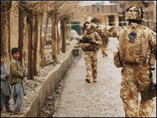 Royal Marines in Sangin