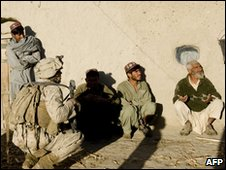 US troops in Helmand