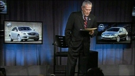 GM's chairman of the board, Ed Whitacre Jr,
