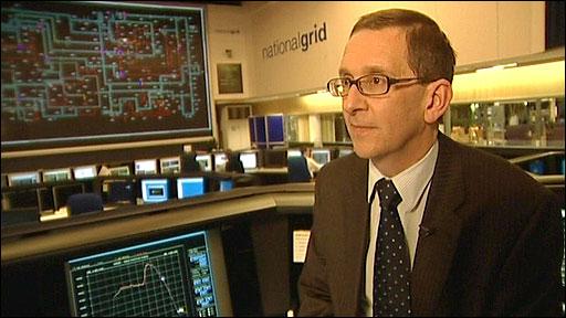 Jon Fenn of the National Grid
