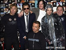 The cast of Jackass