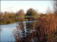 River Stour at Bures