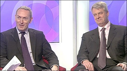 John Hutton and Andrew Lansley