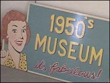 Museum sign (library)
