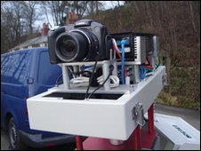 Time-lapse photography rig