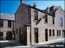 Verdant Works exterior, photo courtesy of Dundee Heritage Trust