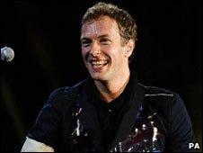 Chris Martin of Coldplay