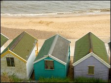 Suffolk seafront
