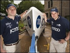 Rowers Alex Macdonald and Luke Grose