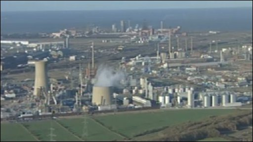 The view of Corus, and steel making on Teesside as it is now.