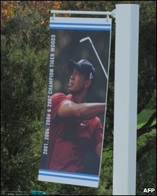 Promotional poster of Tiger Woods
