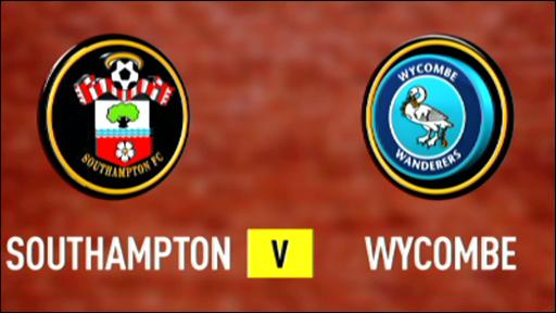 Southampton 1-0 Wycombe