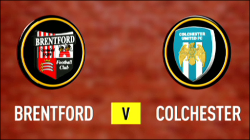 Brentford 1-0 Colchester
