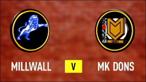 Millwall v MK Dons