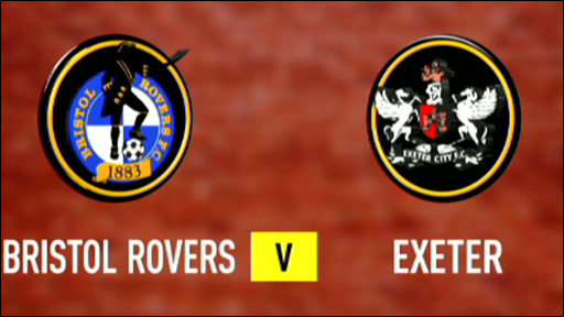 Bristol Rovers 1-0 Exeter