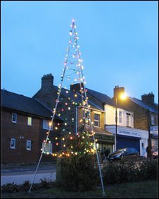 Sacriston's Christmas tree