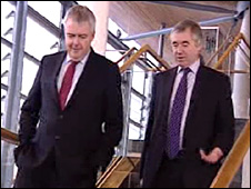 Carwyn Jones and Ieuan Wyn Jones
