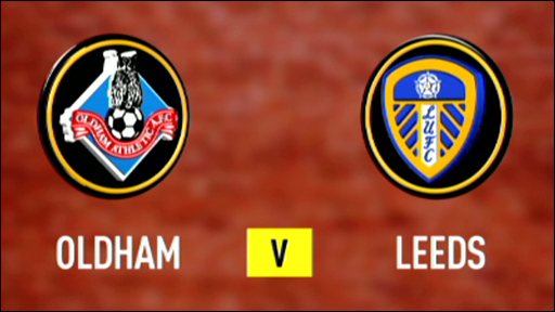 Oldham Athletic 0-2 Leeds United