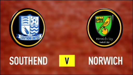 Southend 0-3 Norwich