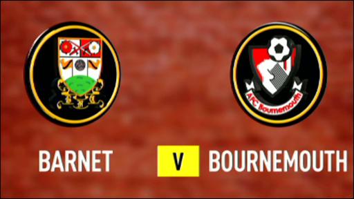 Barnet 1-1 Bournemouth