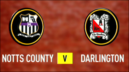Notts County 4-0 Darlington