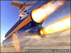 Bloodhound SSC (Curventa)