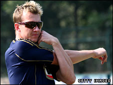 Australian pace bowler Brett Lee