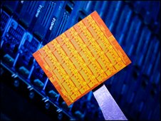Intel prototype chip, Intel
