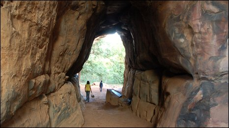 Bhimbetka rock shelter