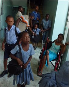 Children at St Vincent Centre for Disabled Children