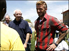 Lord Triesman and David Beckham