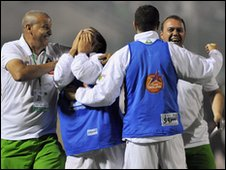 Algeria celebrate qualification