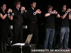University of Michigan iphone orchestra