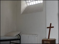 Condemned cell in Crumlin Road jail