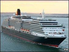 Cunard cruise liner Queen Victoria