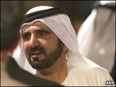 Dubai's ruler, Sheikh Mohammed bin Rashid Al Maktoum