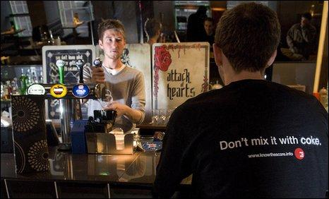 Cocaine warning in Aberdeen bar Snafu