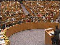 Sir Paul at EU Parliament