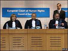 European Court of Human Rights - file pic
