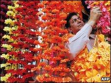 Shopkeeper in the Indian Punjab