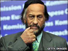 Dr Rajendra Pachauri, head of the Intergovernmental Panel on Climate Change (Image: Getty Images)