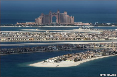 Dubai World's troubled projects