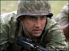 Nick Cage in 2001's Windtalkers