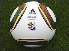 The official ball of the 2010 World Cup finals