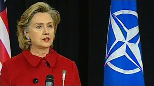 Hilary Clinton, US secretary of state