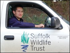 Matt Gooch, Suffolk Wildlife Trust