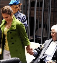 Amanda Knox in court in Perugia
