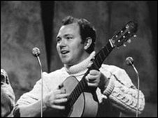 Irish folk singer Liam Clancy of the Clancy Brothers and Tommy Makem