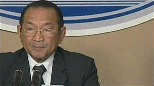 Presidential spokesman